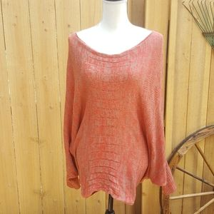 CLEARANCE Umgee Oversized Crochet sweater batwing